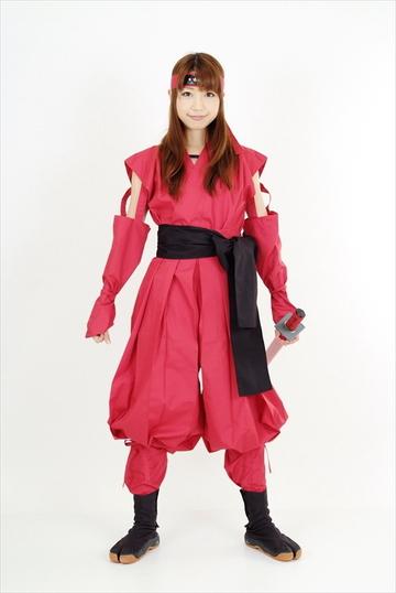 くノ一装束(赤 & 黒)|ITEM