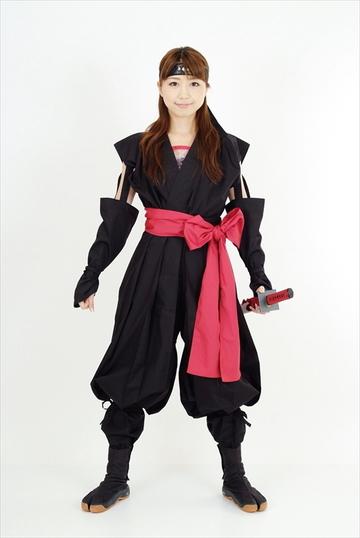 くノ一装束(黒 & 赤)|ITEM