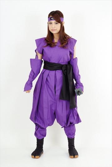 くノ一装束(紫・黒)|ITEM