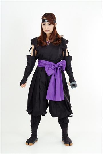 くノ一装束(黒・紫)|ITEM